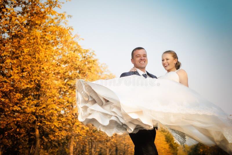 nozze Sposa e sposo fotografia stock libera da diritti