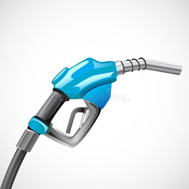 nozzel βενζίνη διανυσματική απεικόνιση