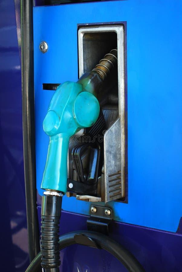 Nozzle błękit zdjęcie stock