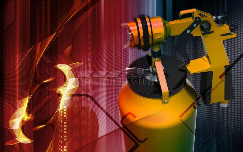 Nozzle Spray Gun Stock Image