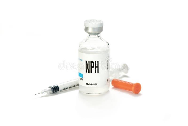 NPH strzykawka I obraz stock