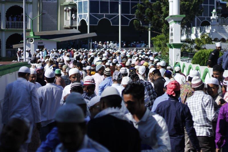 NPL:尼泊尔庆祝Eid AlAdha 库存照片