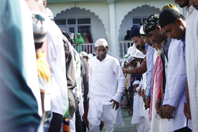 NPL: Nepal celebrates Eid al-Adha royalty free stock image