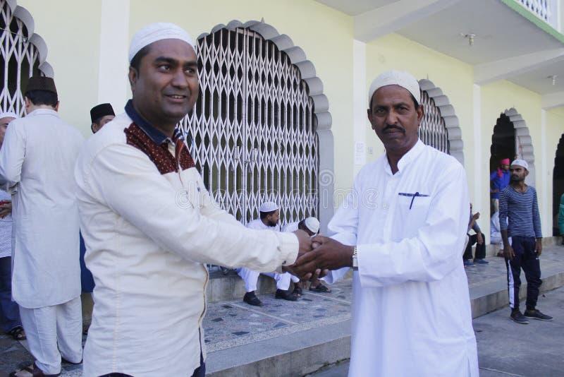 NPL: Nepal celebrates Eid al-Adha royalty free stock photography