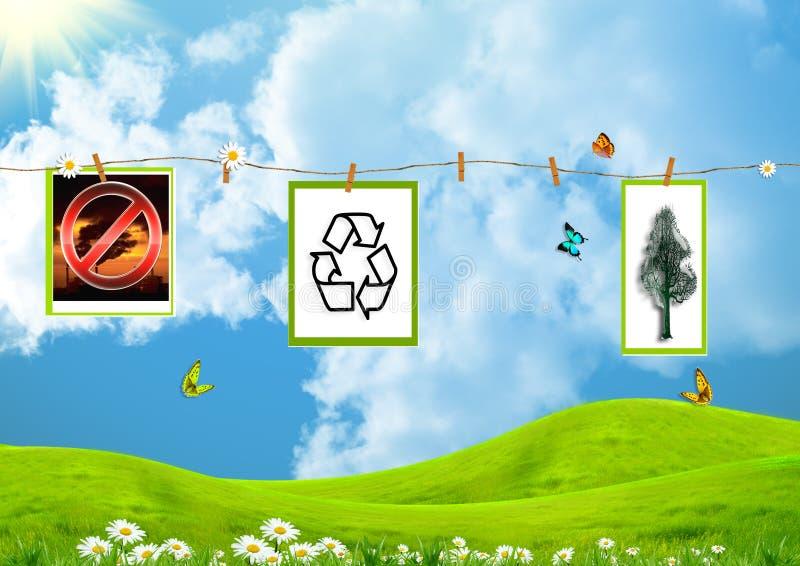 Nr voor ecologische misdaden royalty-vrije stock afbeelding