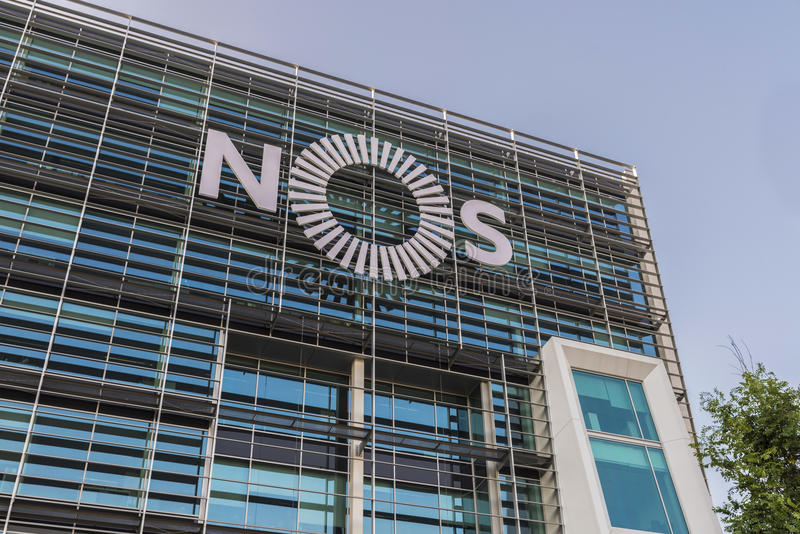 Nrs.-Hoofdkwartier in Lissabon, Portugal royalty-vrije stock foto's