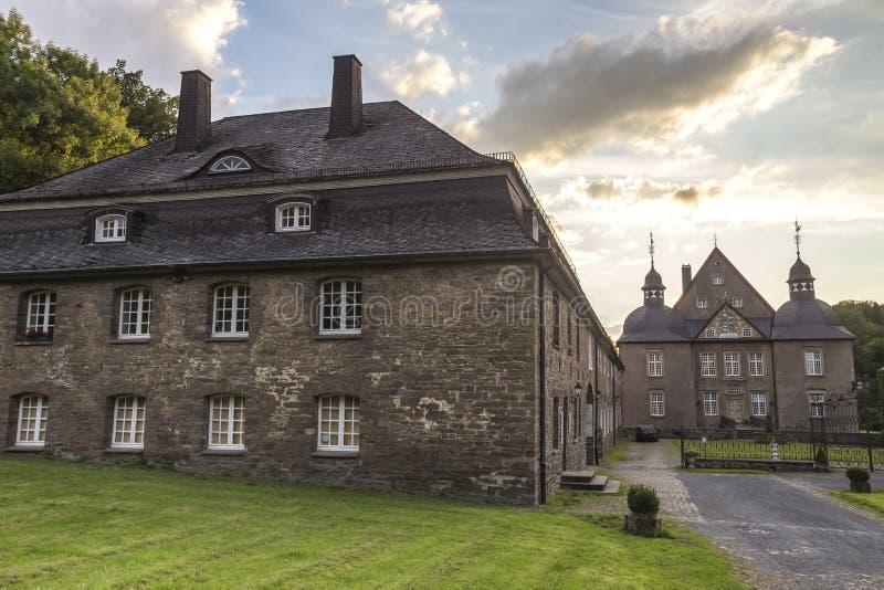Nrw de Alemanha do neuenhof do castelo fotos de stock royalty free
