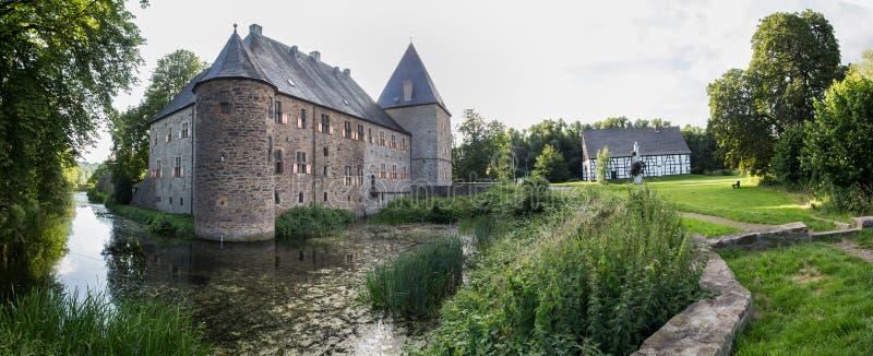 Nrw Germania del kemnade di haus del castello dell'acqua immagini stock