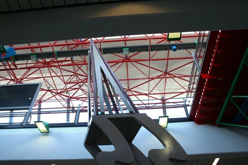 NS Trainstation Lelystad fotografia de stock