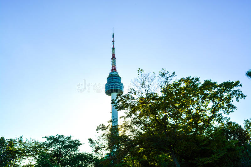 Nseoultower stock images