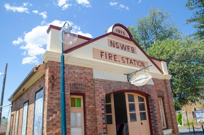 NSWFB społeczności sztuk Centre Znał w okolicy jako 'the stary posterunek straży pożarnej zdjęcia stock