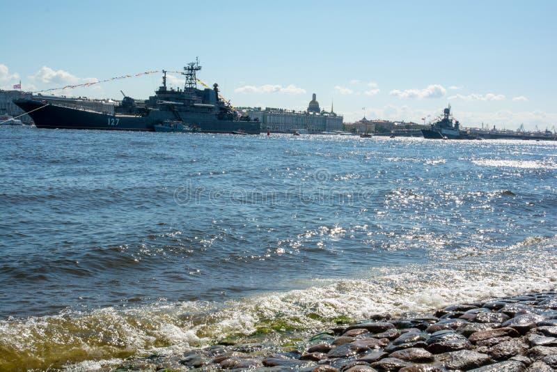 Ntva Sankt-Peterburg. Russia celebration stock photo