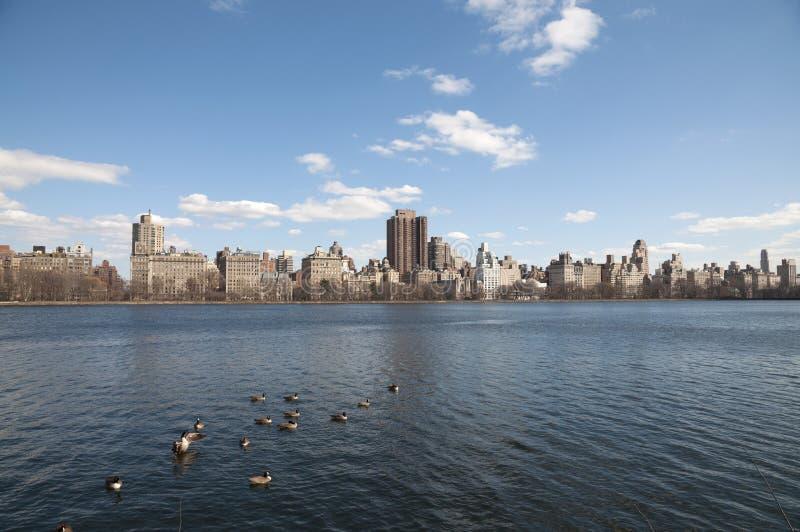 Nu de Stad van York, Central Park stock afbeelding
