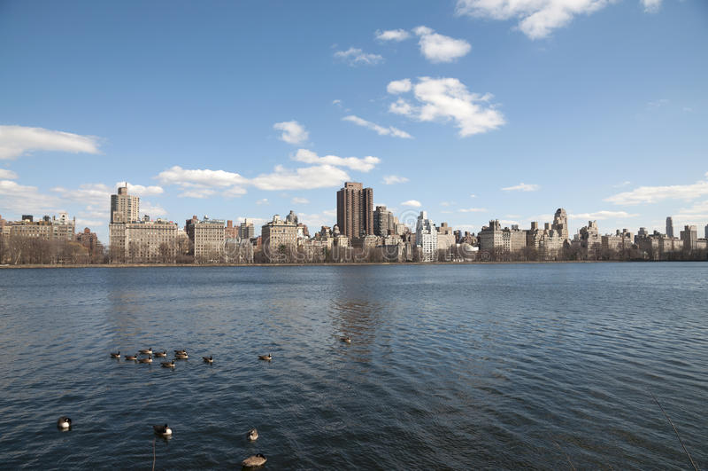 Nu de Stad van York, Central Park royalty-vrije stock afbeelding