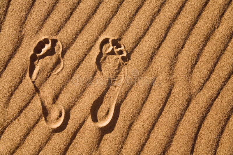 Nu-pieds image stock