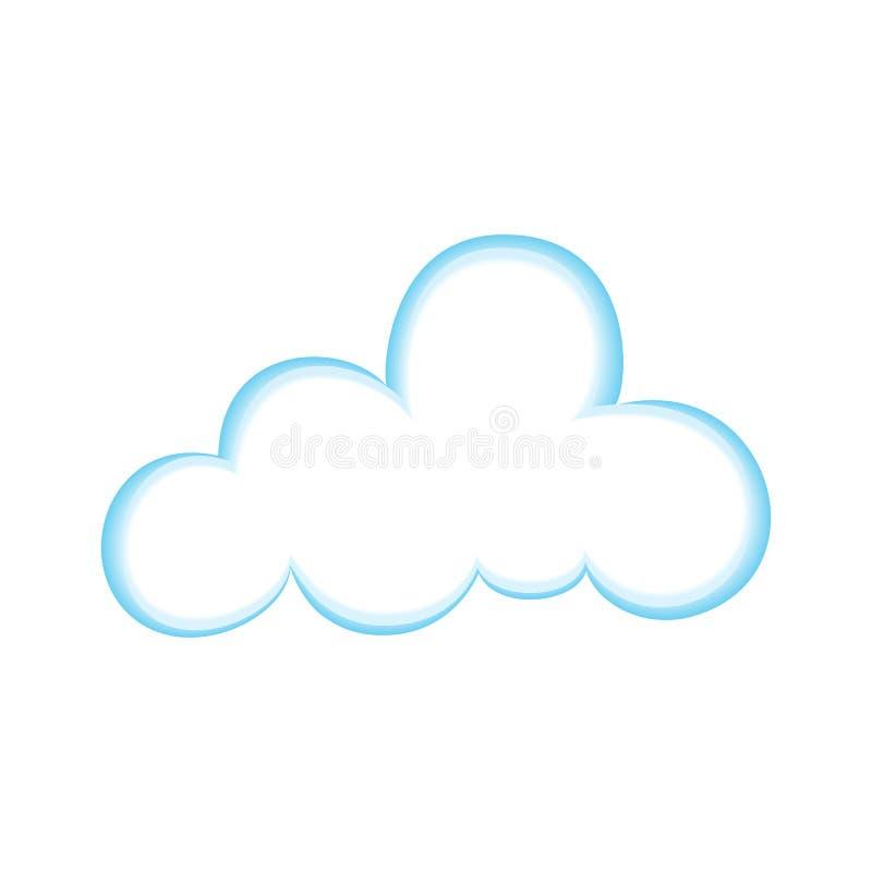 nuage illustration stock