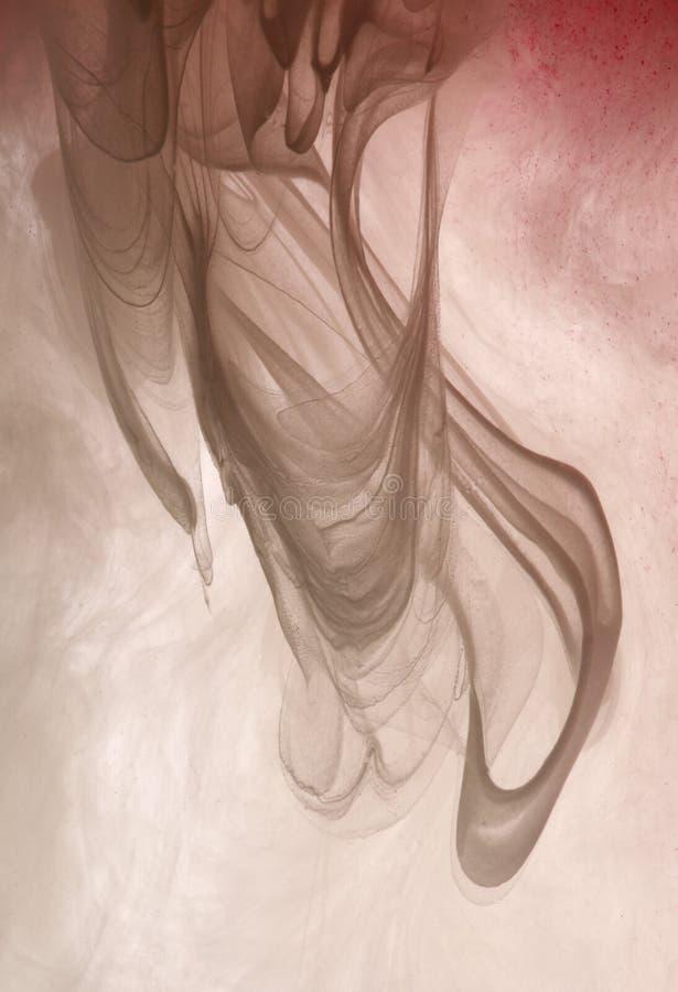Nuage gris de peinture image libre de droits