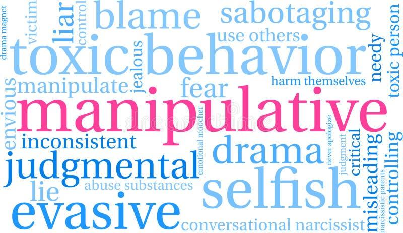 Nuage manipulateur de Word illustration stock