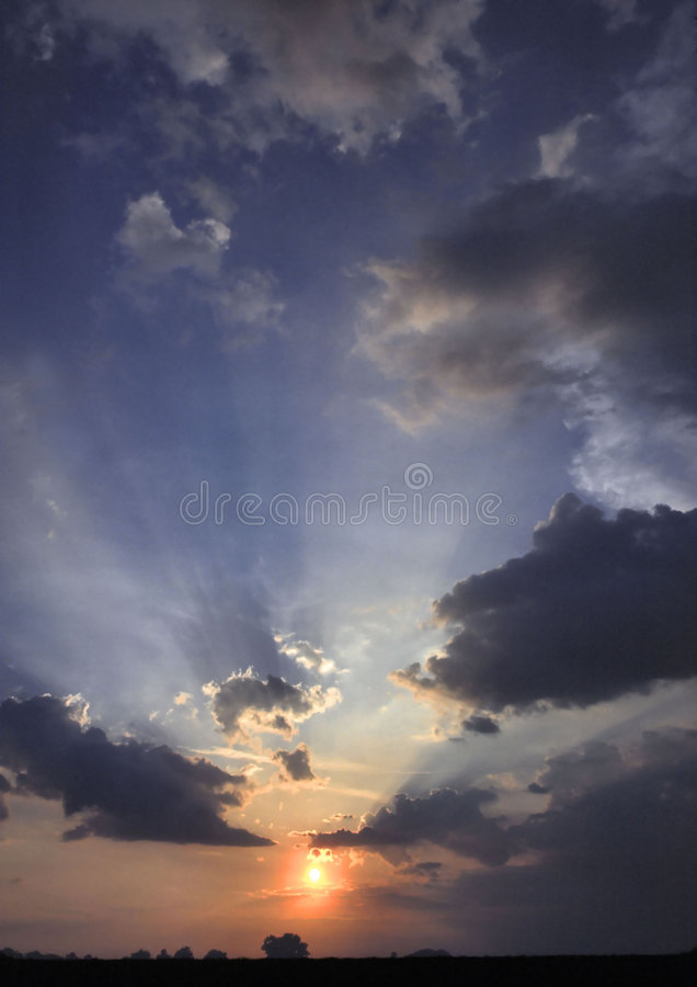 Nuages 3 photographie stock