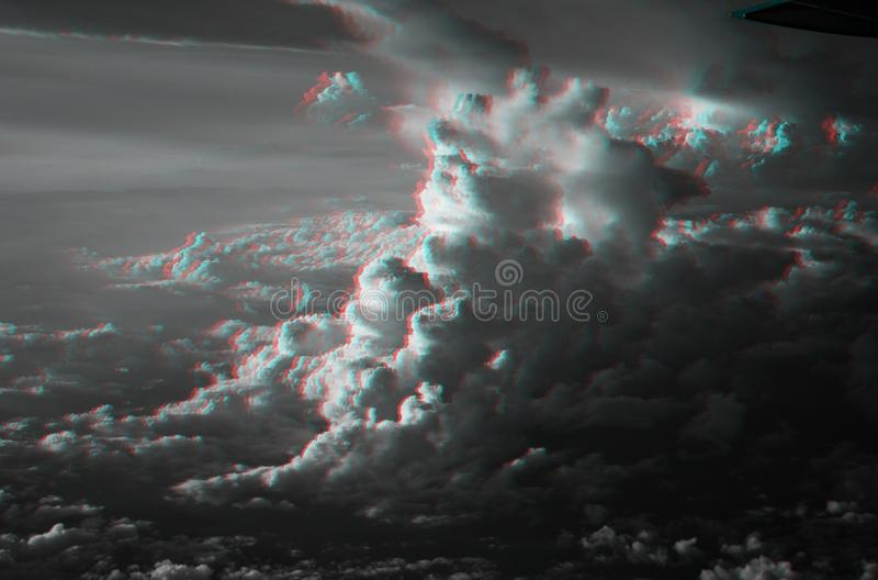 nuages 3D images stock