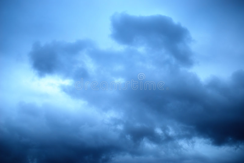 Nuages ! ! photo libre de droits