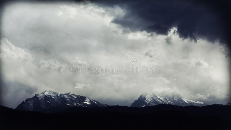 Nuages image stock