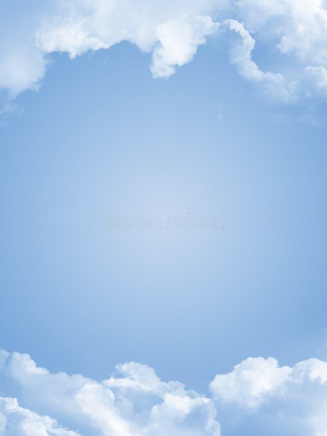 nuages illustration libre de droits