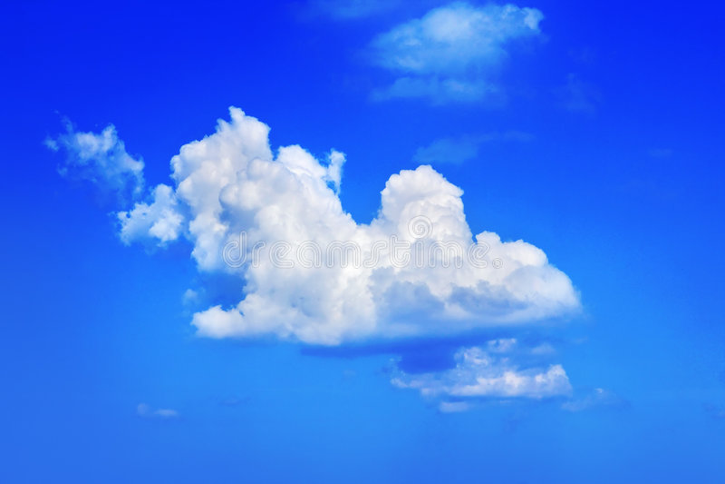 nuages photo libre de droits