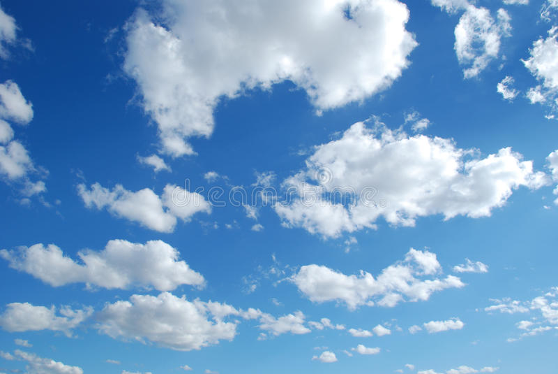 nuages image libre de droits