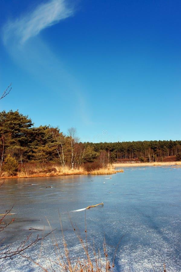 Nuages, ciel et eau. images libres de droits