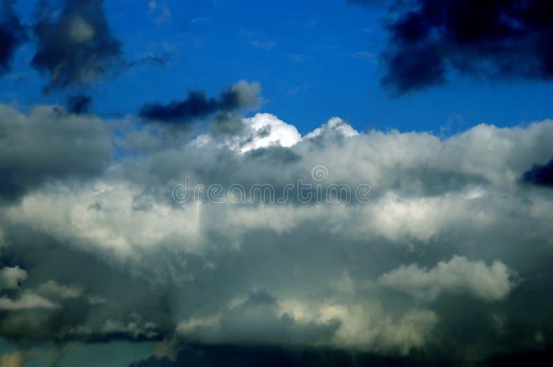 Nuages de tempête photos libres de droits