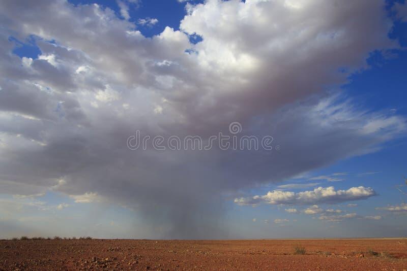 Nuages de tempête d'intérieur image stock