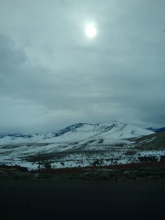 Nuages du Colorado photos stock