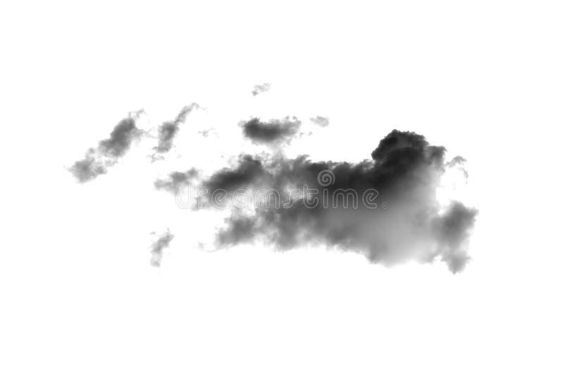 Nuages foncés photographie stock