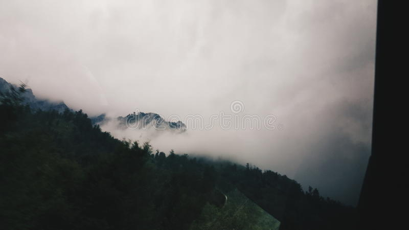 nuageux image libre de droits