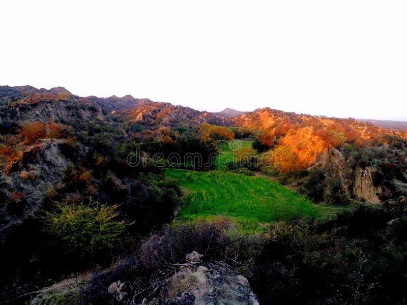 Nuances de coucher du soleil images libres de droits