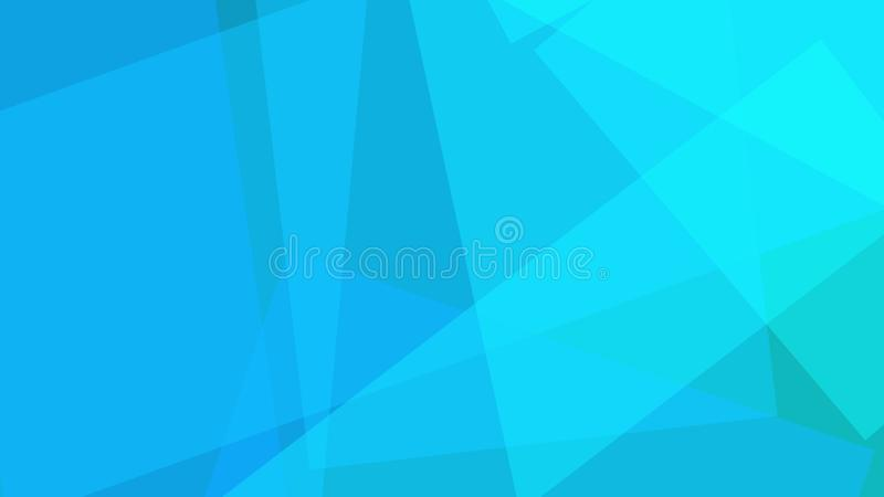 Nuances des formes angulaires bleues Fond d'illustration pour des rapports et des présentations illustration libre de droits