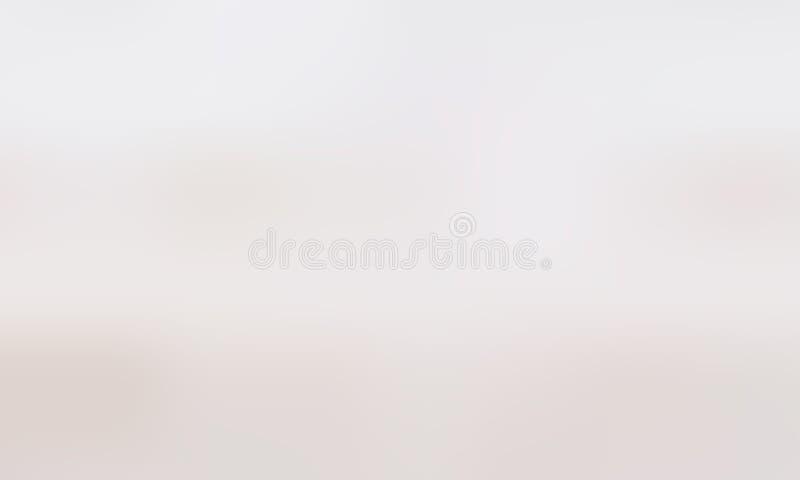 Nuances très légères de sable de fond de gradient transitions douces de couleur Fond brouillé illustration de vecteur