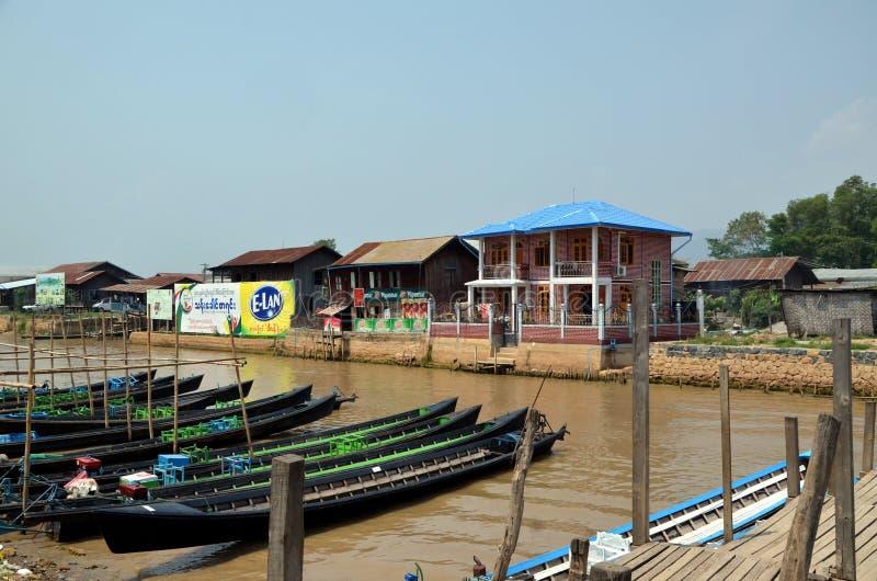 Nuang Shwe, Мьянма стоковые изображения