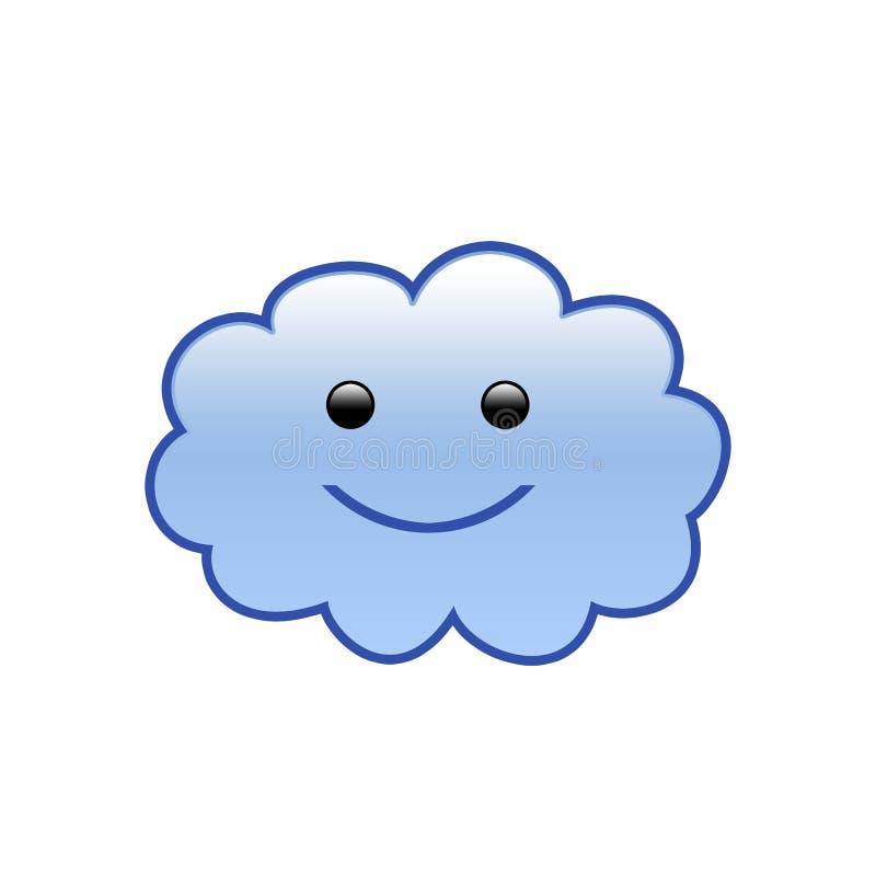Nube [01] stock de ilustración