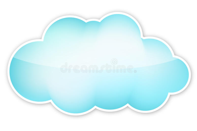 Nube stock de ilustración