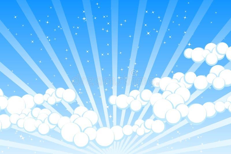 Nube ilustración del vector