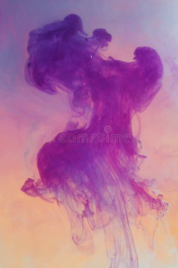 Nube abstracta de la tinta imagen de archivo libre de regalías