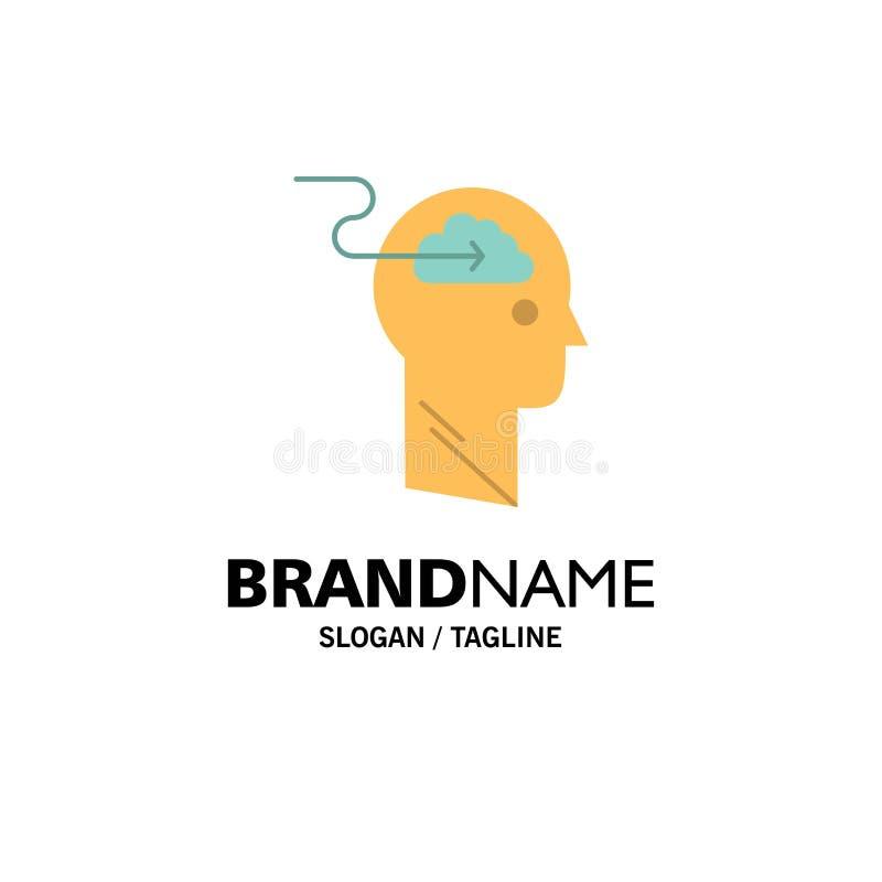 Nube, actualización, transferencia directa, carga por teletratamiento, negocio Logo Template del usuario color plano stock de ilustración
