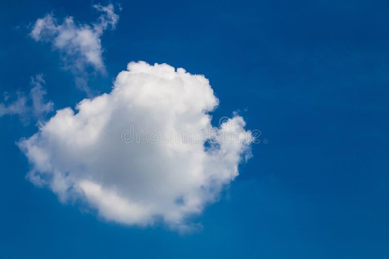 Nube blanca imágenes de archivo libres de regalías