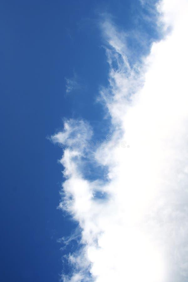 Nube blanca imagen de archivo libre de regalías