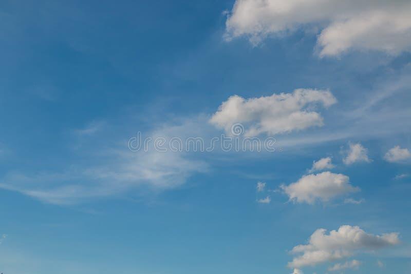 Nube blanca foto de archivo