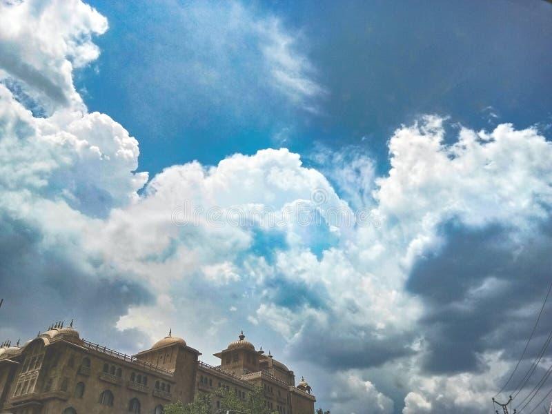 Nube de Havvy imagen de archivo