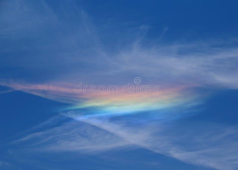 Nube del arco iris fotos de archivo