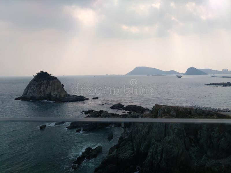 Nube del cielo de la naturaleza del océano del mar del paisaje foto de archivo